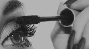 mascara aanbrengen